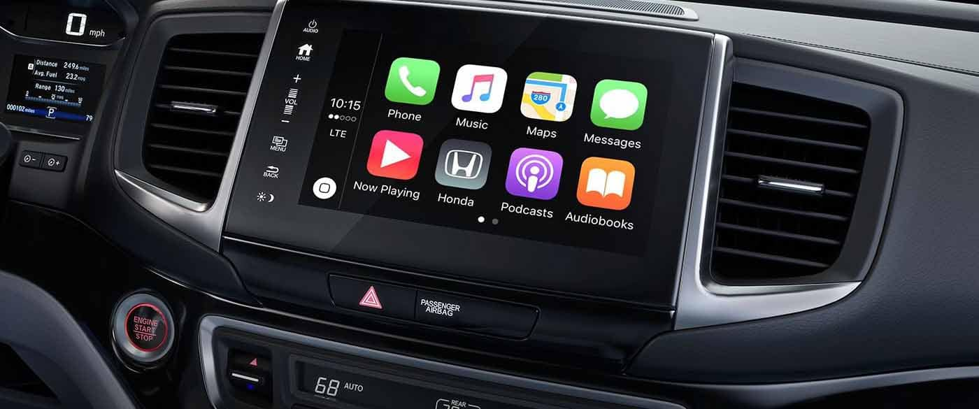 2019 Honda Ridgeline Apple Carplay
