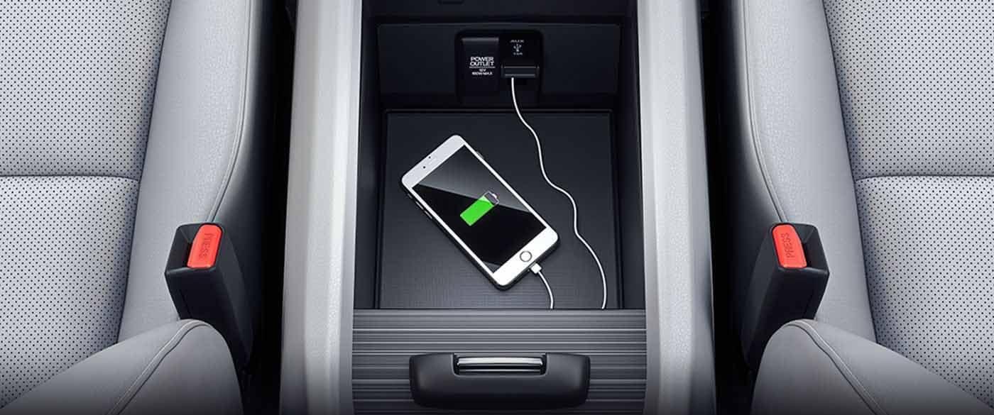 2019 Honda Ridgeline Smart Phone Integration