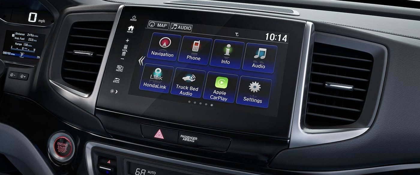 2019 Honda Ridgeline Touch Display Screen