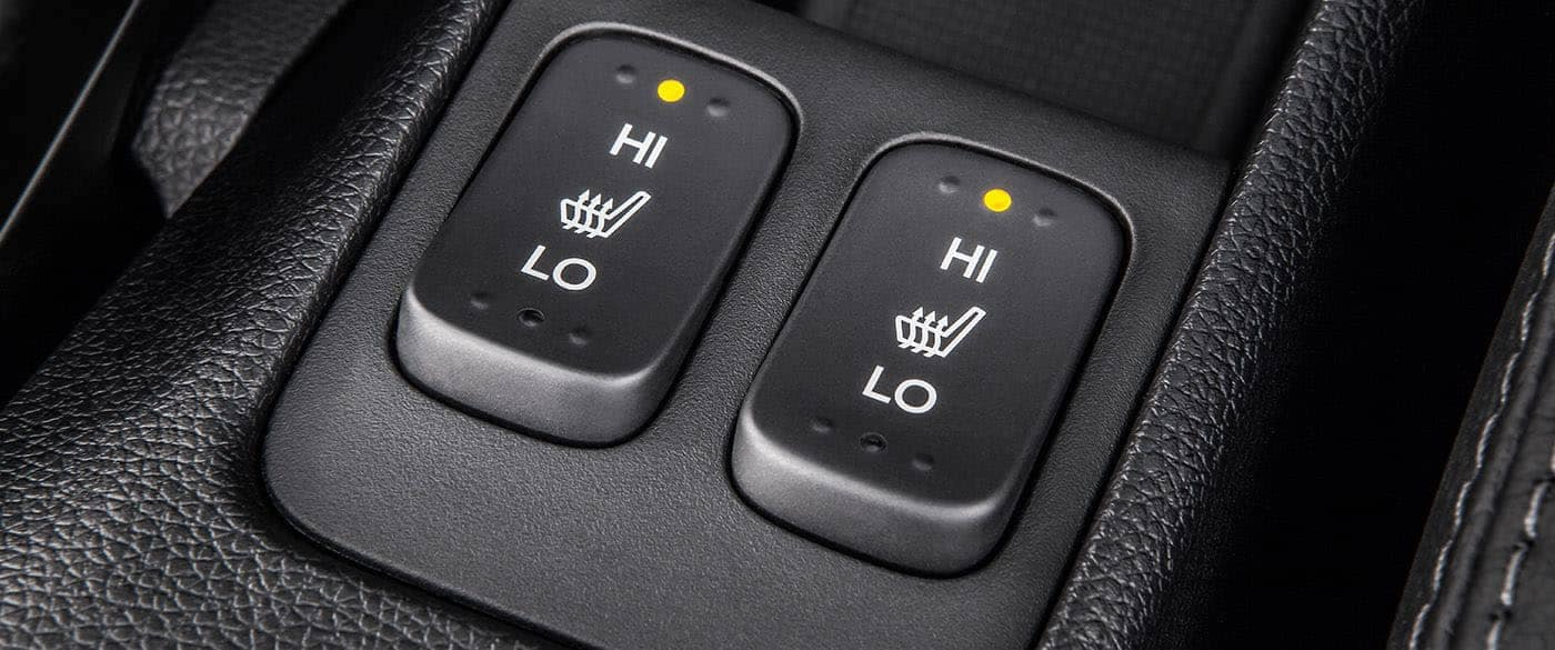 2019 Honda Fit Heated Seat Buttons