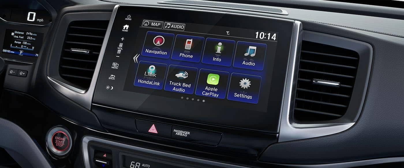 2019 Honda Ridgeline Audio System