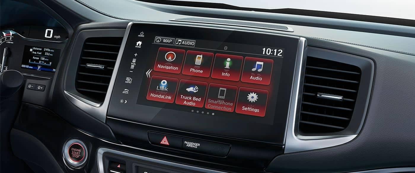 2019 Honda Ridgeline Black Edition Audio System