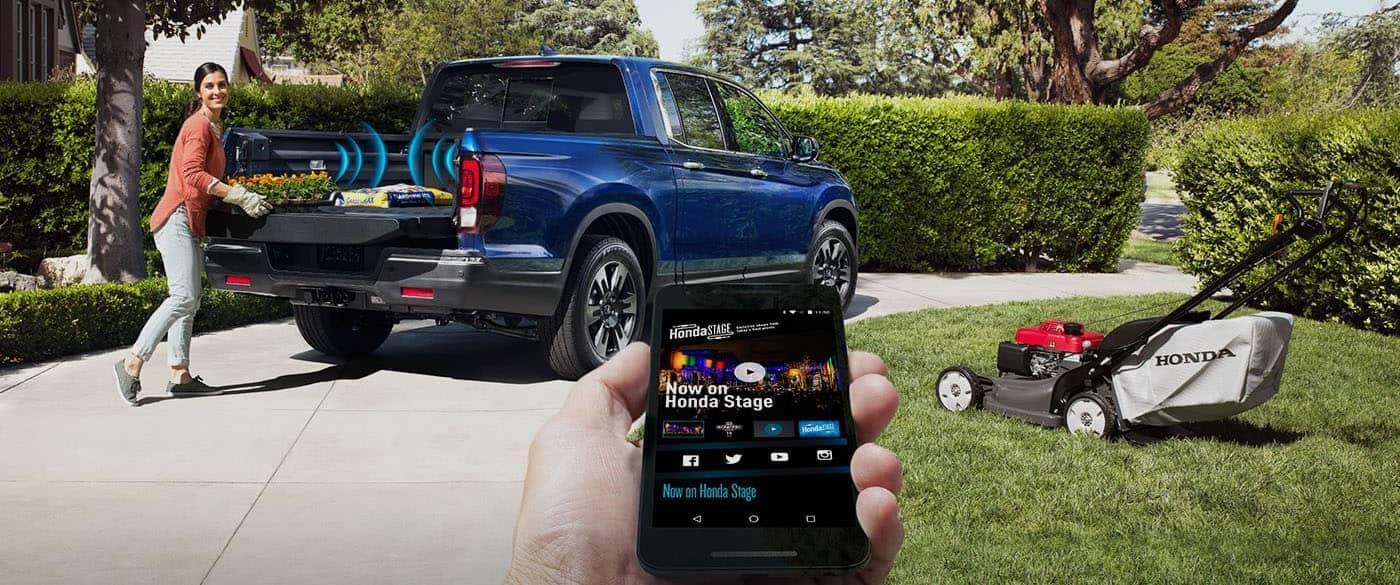 2019 Honda Ridgeline In Bed Audio System