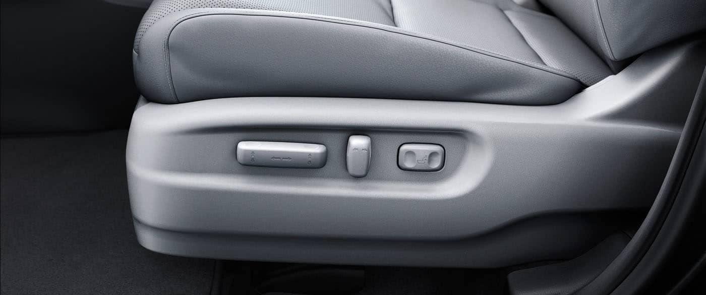 2019 Honda Ridgeline Power Adjustable Seats