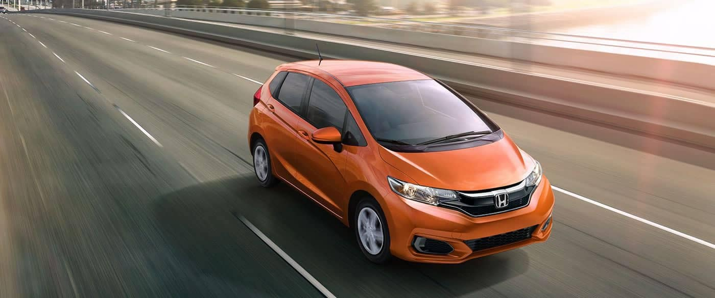 2018 Honda Fit Driving on the Highway