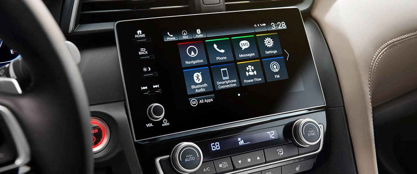 2019 Honda Insight 8 Inch Touchscreen