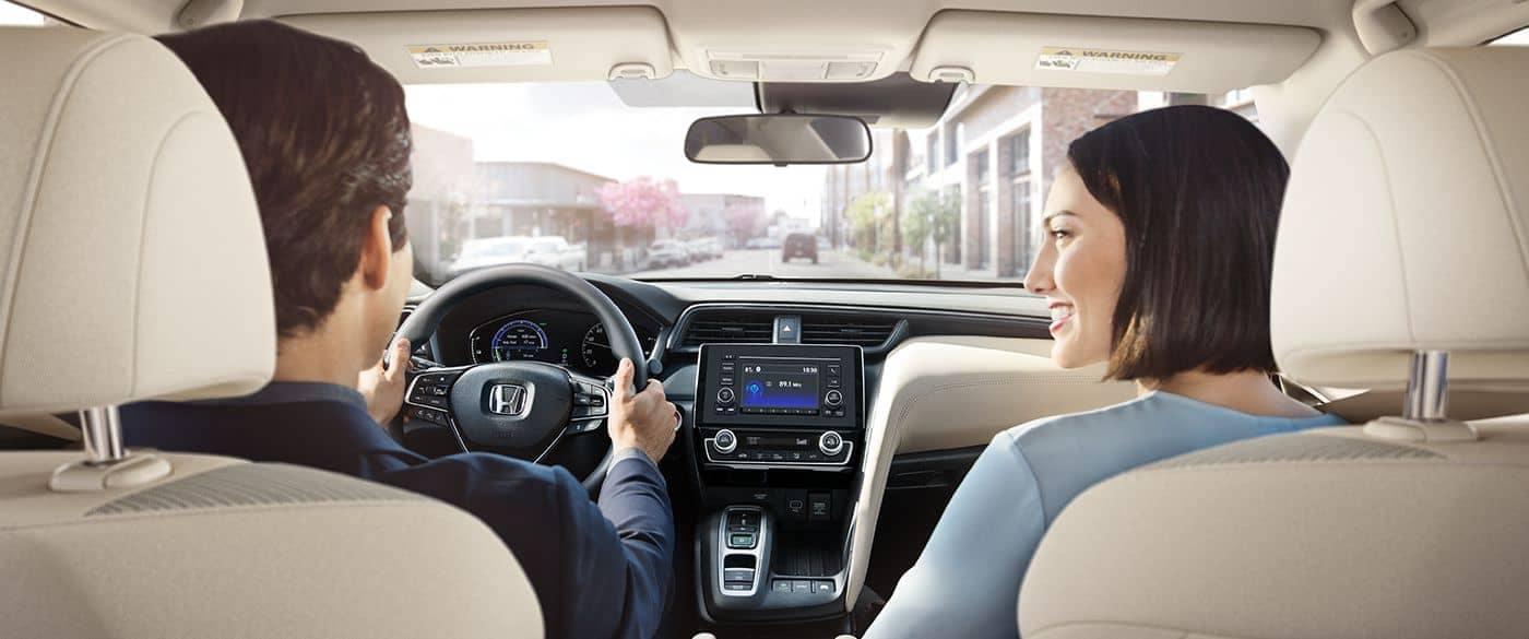 2019 Honda Insight Couple Driving