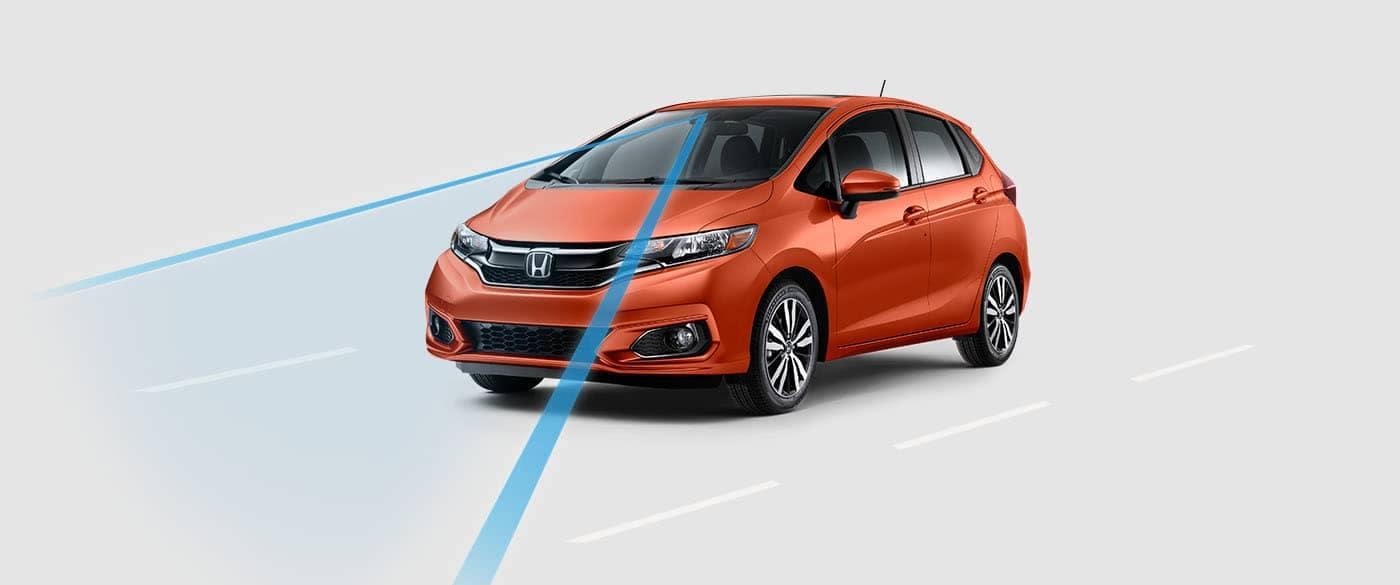 2019 Honda Fit Road Departure Mitigation