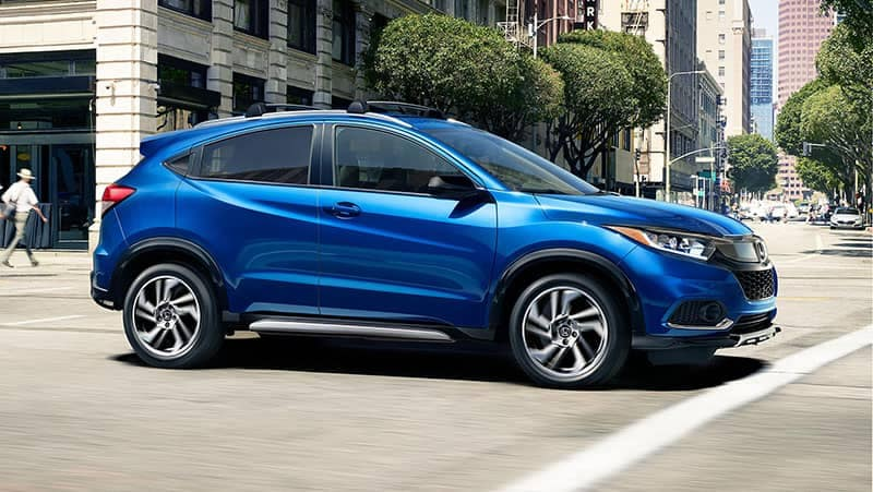2019 Honda HR-V Driving In the City