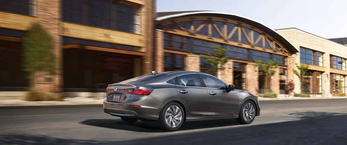 2019 Honda Insight Driving