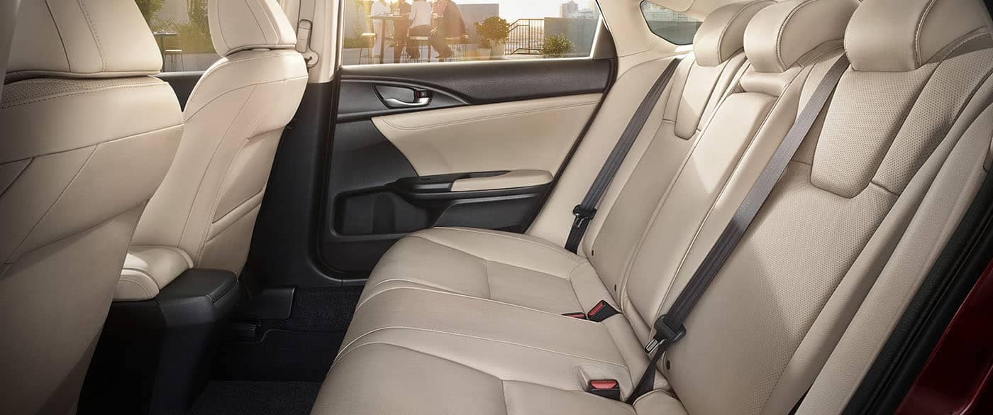 2019 Honda Insight Interior Rear Seating