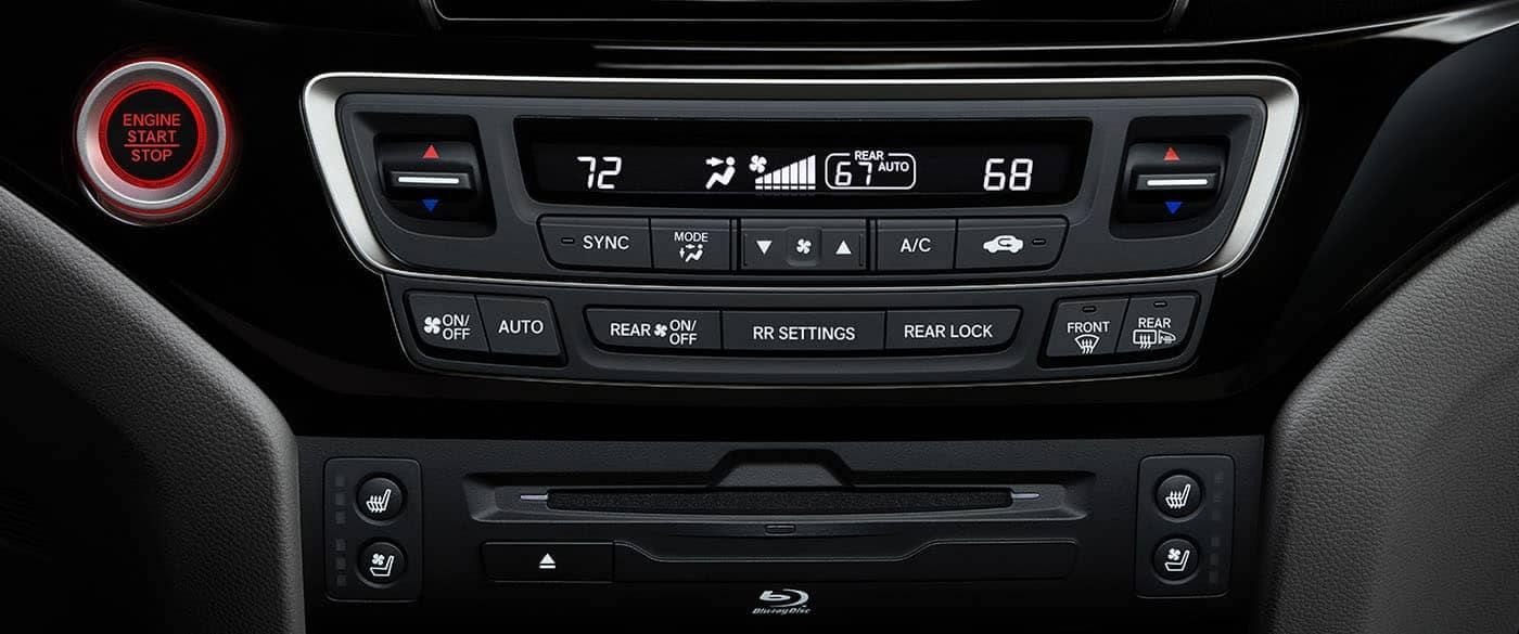 2019 Honda Odyssey Tri-Zone Climate Control