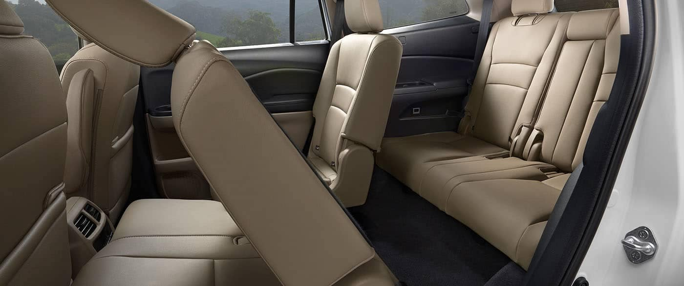 2019 Honda Pilot 2nd Row One Touch Seats