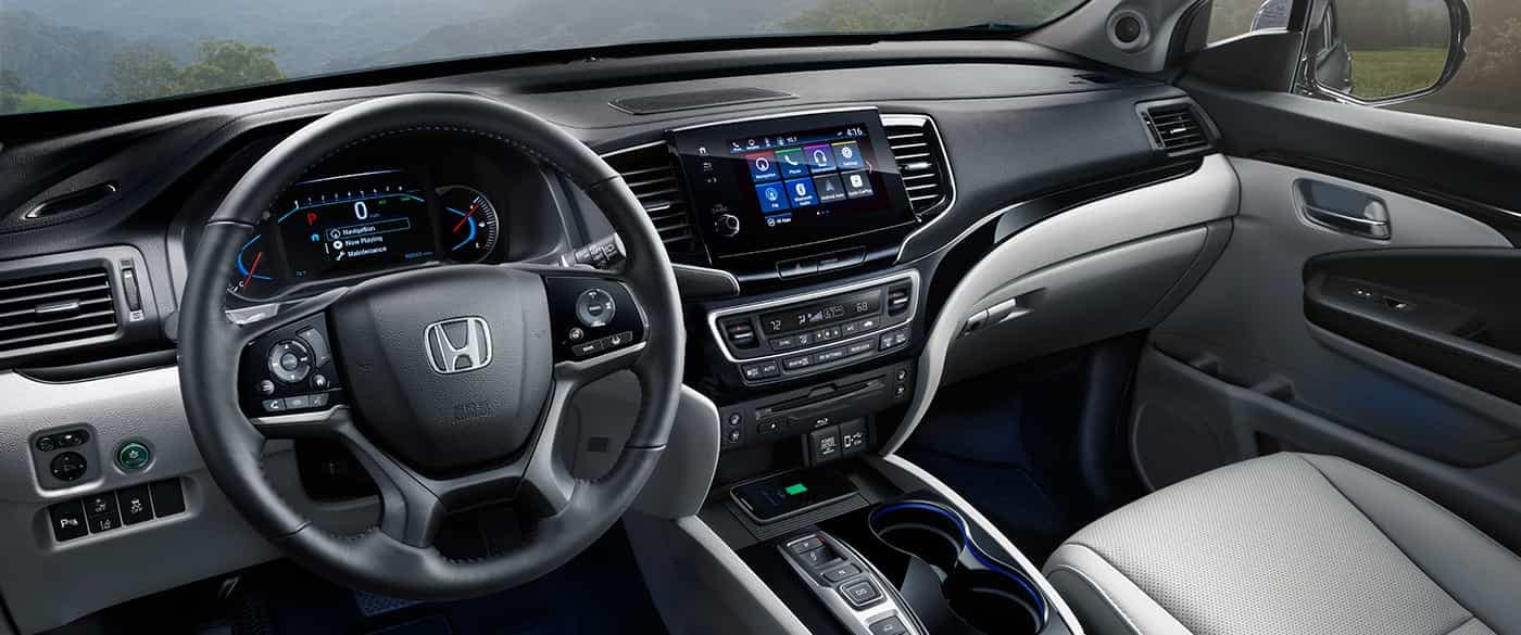 2019 Honda Pilot Audio System and Dashboard
