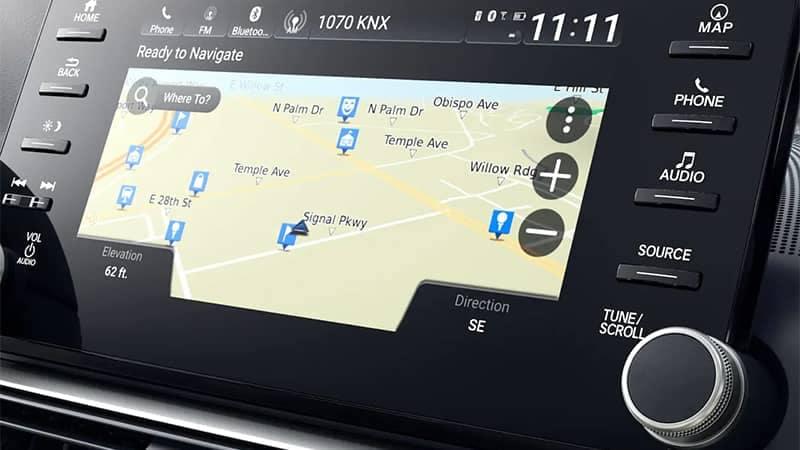 2019 Honda Accord Navigation System