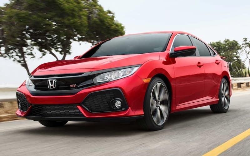 2019 Honda Civic si Performance