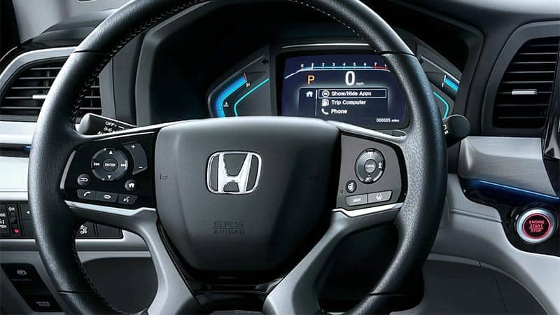 2019 Honda Odyssey Steering Wheel Controls