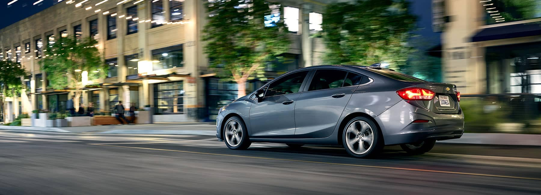 2019 Chevrolet Driving Down a City Street