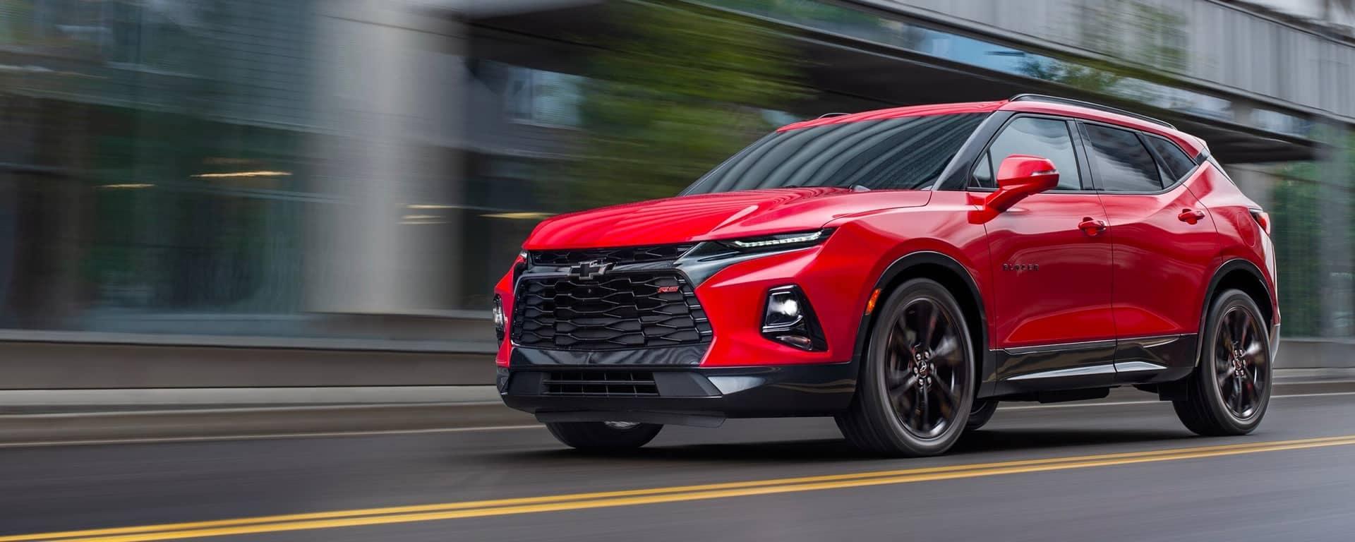 Red 2019 Chevrolet Blazer