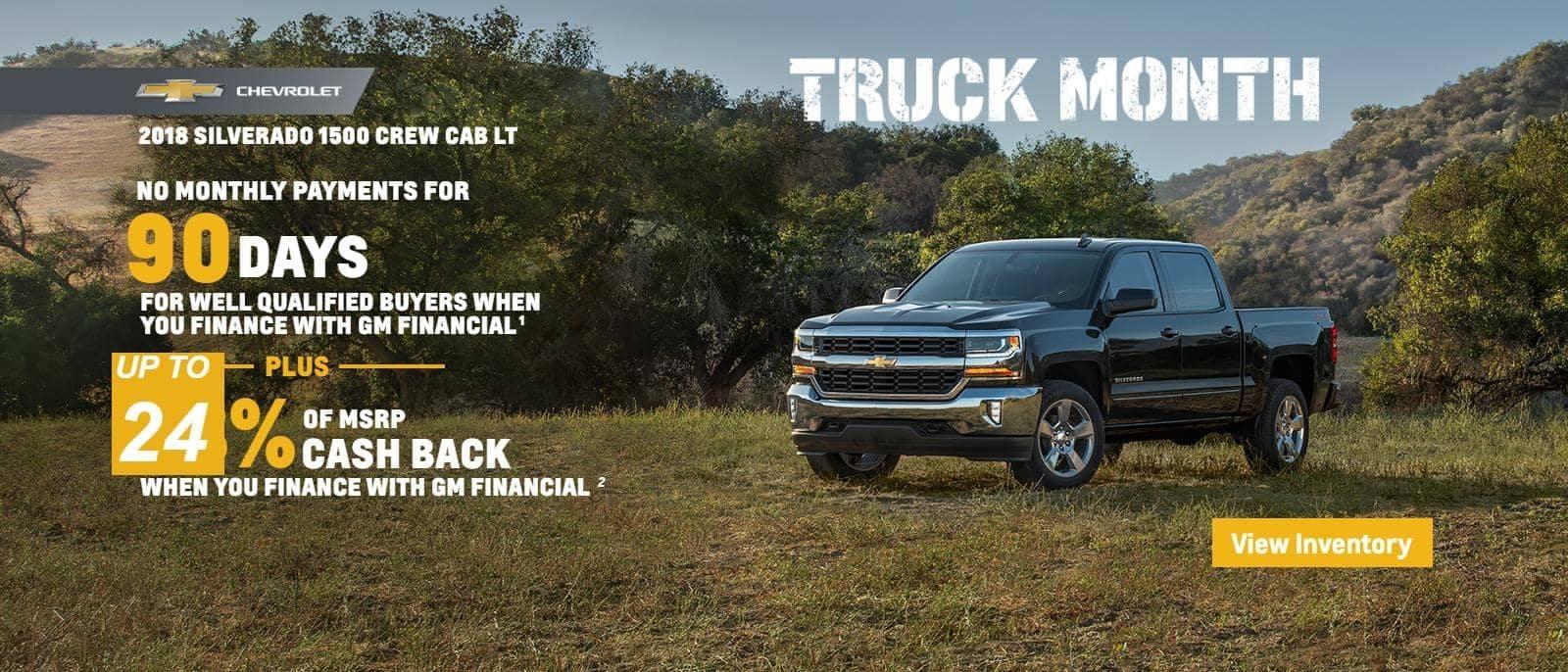 Truck Month 2018 Silverado 1500