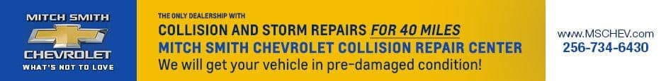 Collision and Storm Repair Center For 40 miles