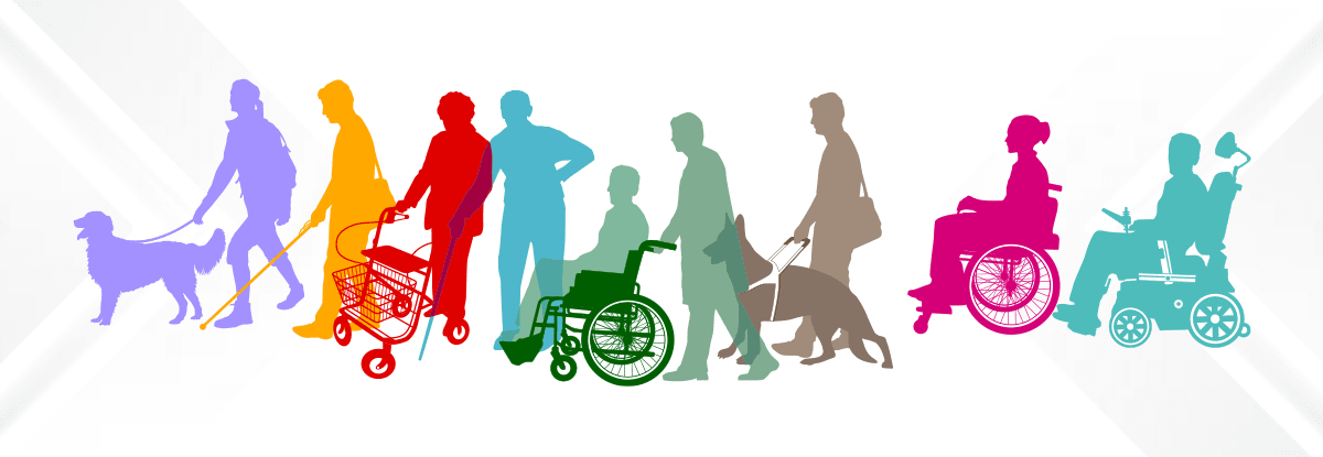 graphic of people walking