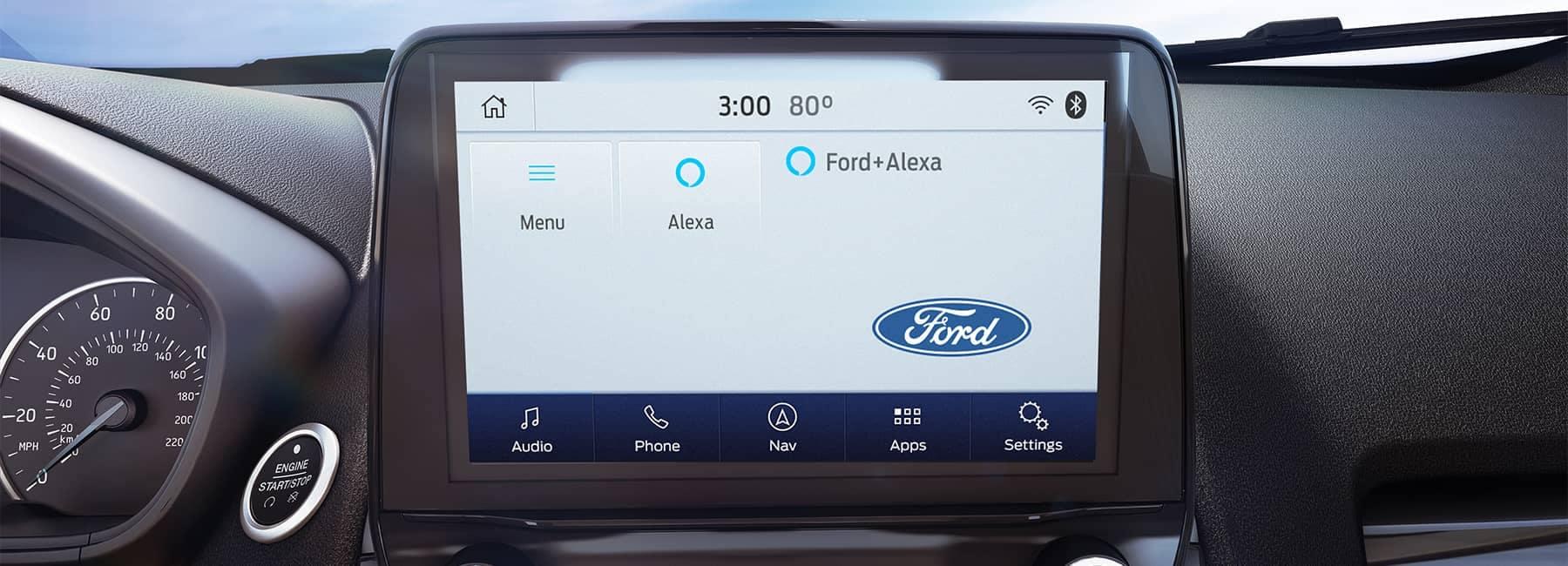 2021 Ford EcoSport Dashboard Console