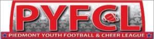 peidmont youth football and cheer league logo