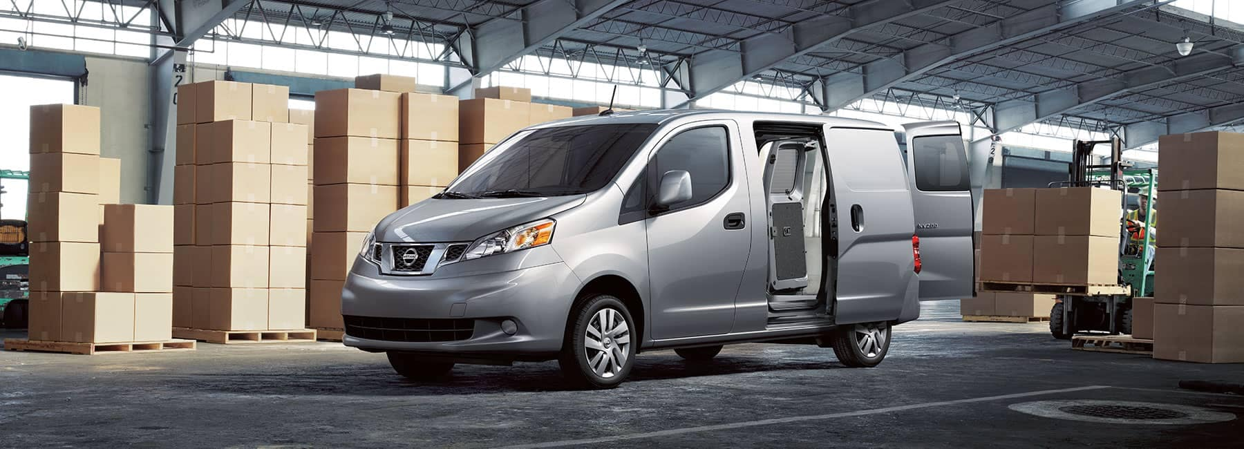 Grey-NV200-in-a-warehouse