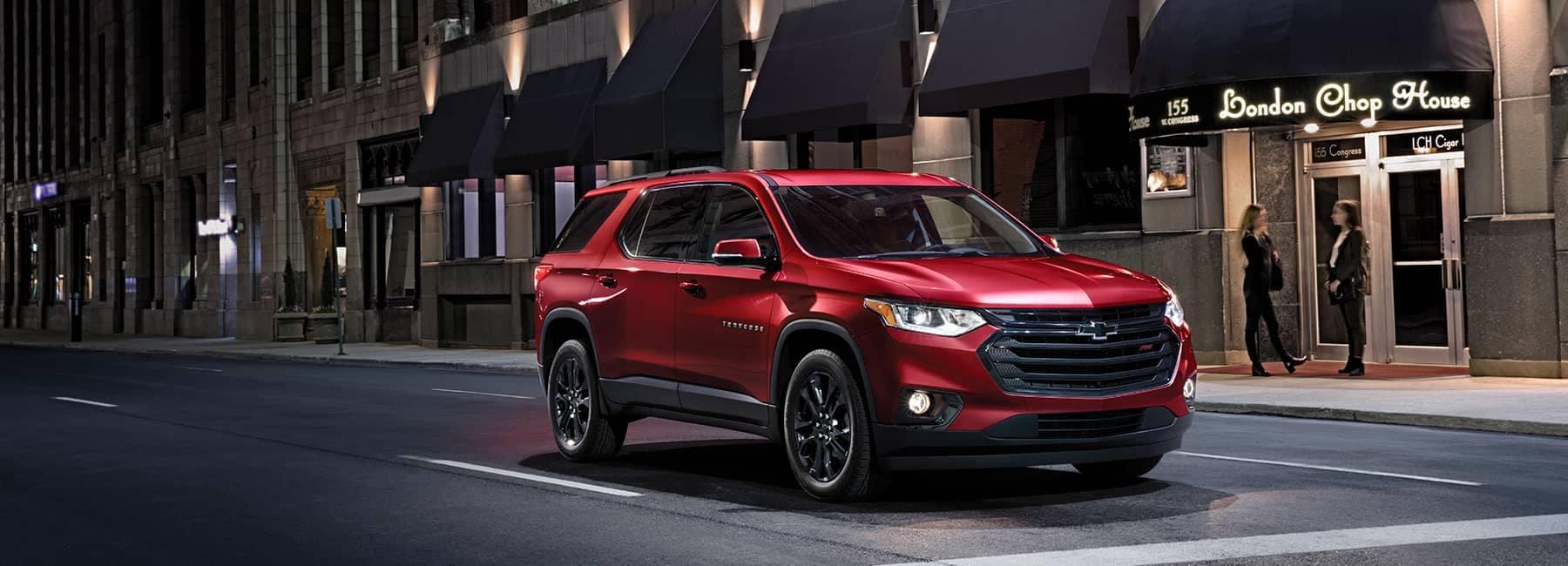 Red 2020 Chevrolet