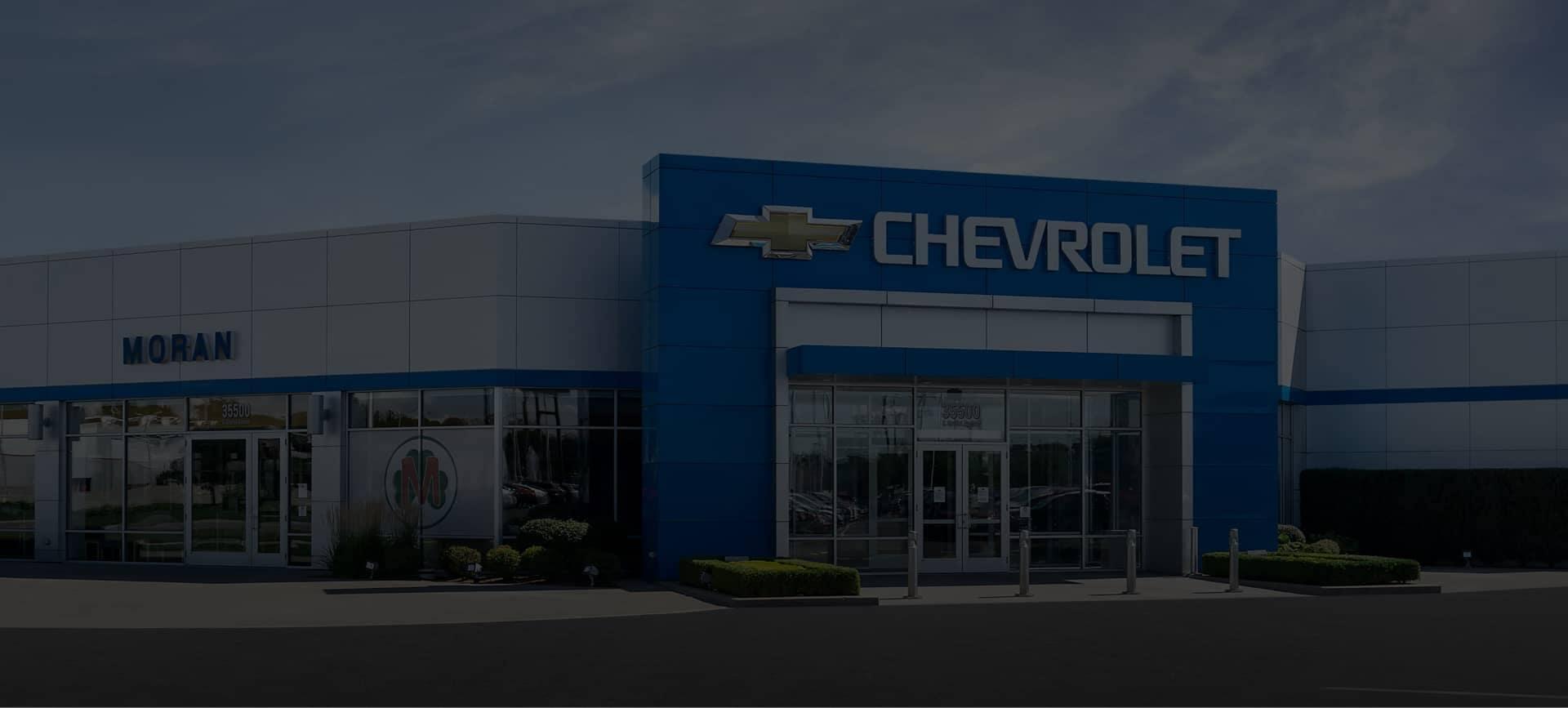 Moran Chevrolet Dealership Front