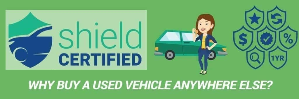 Shield certified interest rate banner