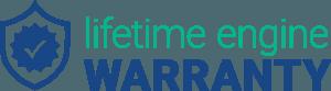 Lifetime engine warranty icon