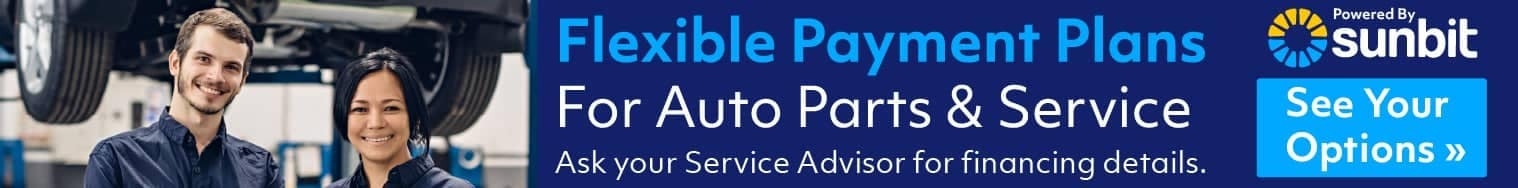 Sunbit Service Parts Financing