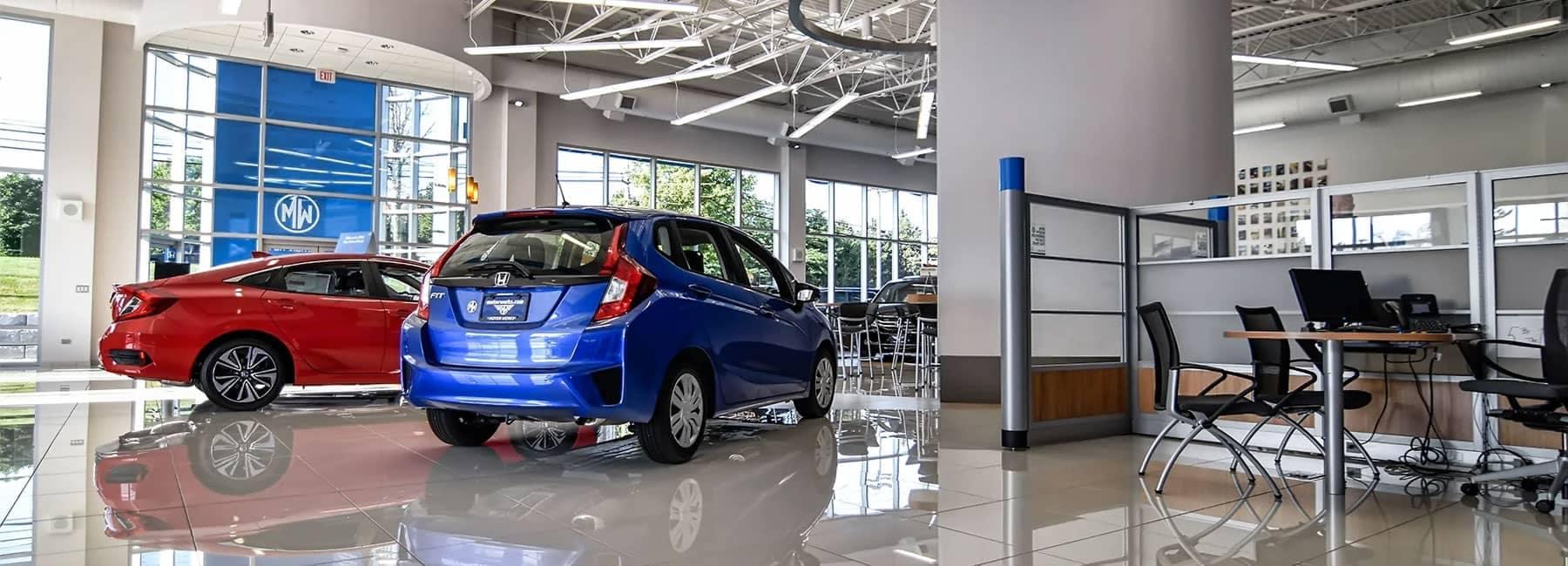 Motors Werks Honda Interior Showroom