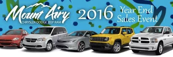2016 Year End Sales Event