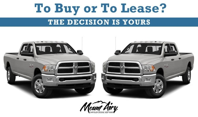 Buying a Car vs. Leasing a Car