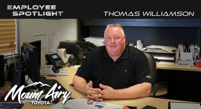 Employee Spotlight Thomas
