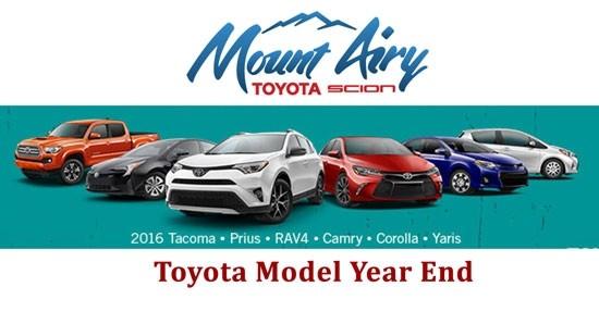 2017 Toyota Models