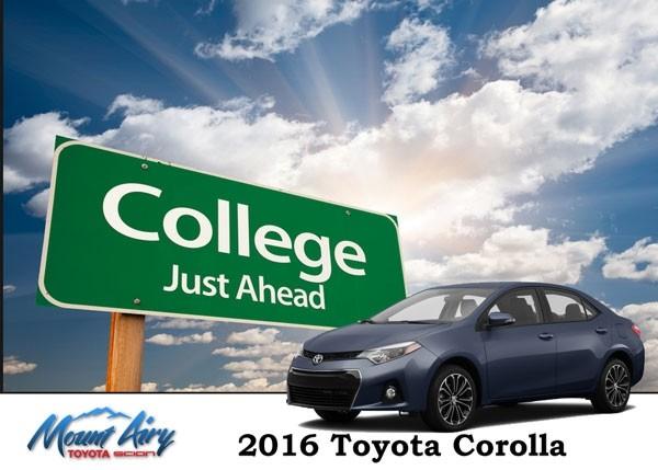 Toyota Graduation Gift