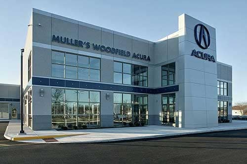 Muller's Woodfield Acura Dealership Photo