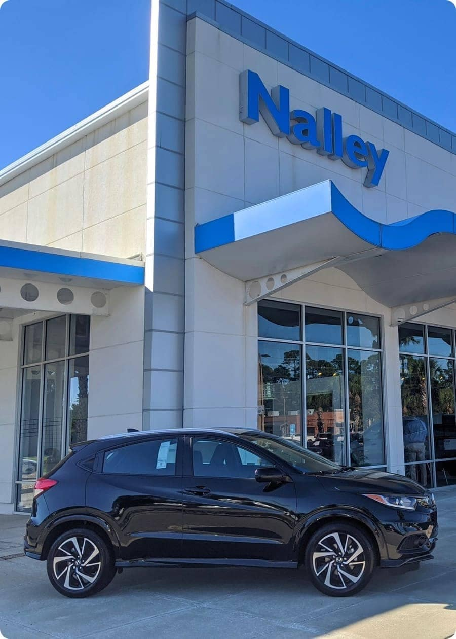 Nalley front of dealership