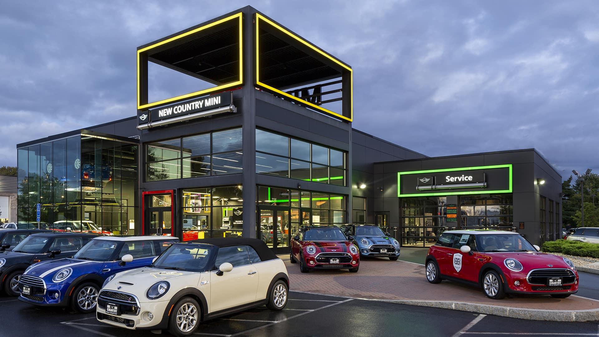 exterior shot of dealership