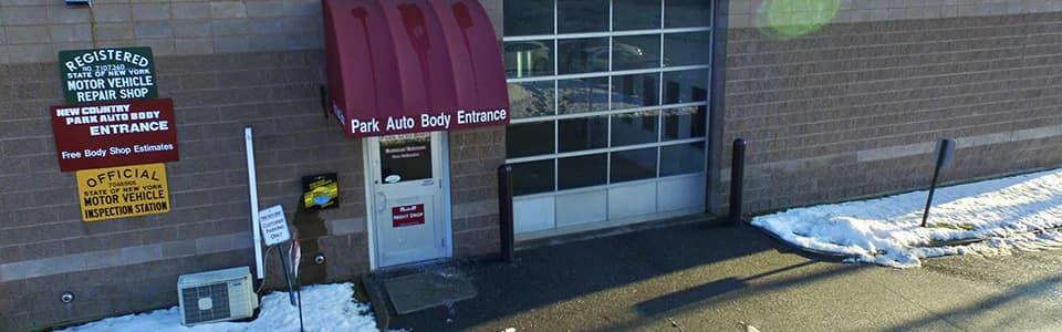 Park Auto Body entrance