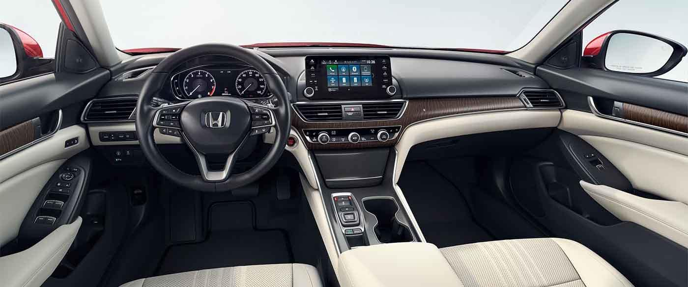 2018 Honda Accord Front Dashboard with push button start