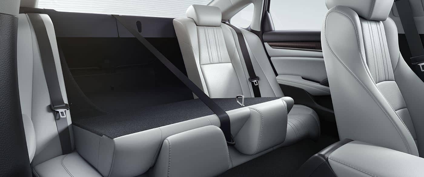 2018 Honda Accord Rear Seating 60:40