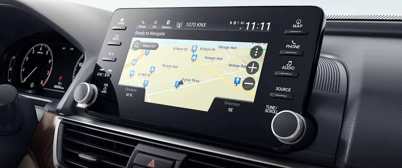 2018 Honda Accord Sedan Navigation
