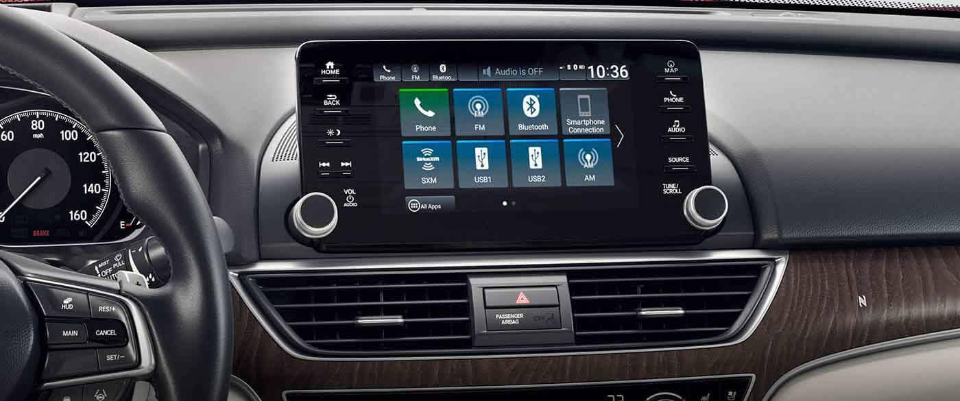 2018 Honda Accord Sedan Premium Audio System