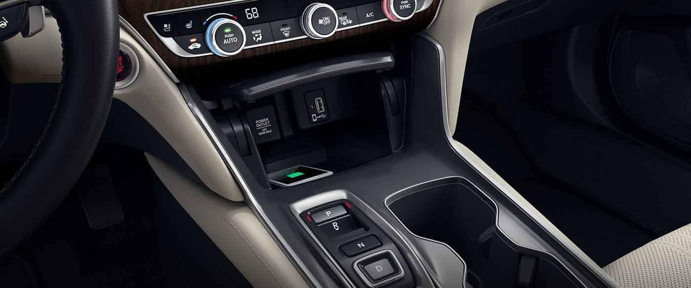 2018 Honda Accord Sedan Wireless Charging