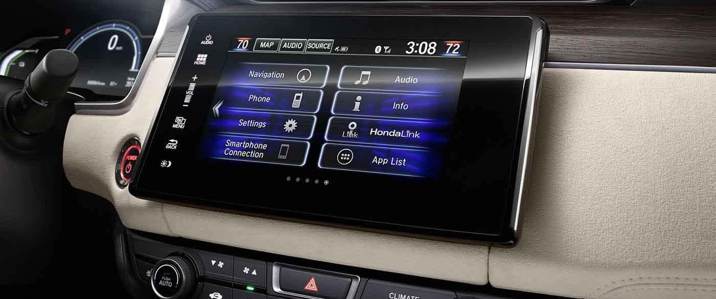 2018 Honda Clarity 8 inch display screen